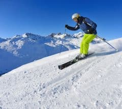 Skiing weeks
