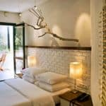 Spacious double rooms