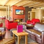 Chalet Hotel lounge and dining