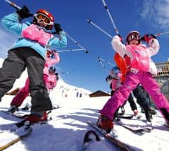 Ski with your kids