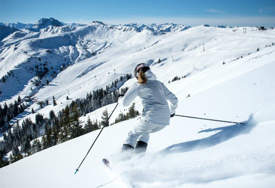 skiing in Kitzbuhel Austria Single Parents with kids solo holidays
