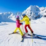 Christmas ski holiday for singles