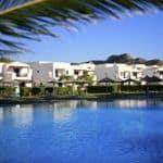 Attractive holiday village