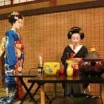 Geisha Tea Ceremony, Kyoto