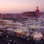 Marrakech in February