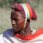 Africa; Kenya; Laikipia; Loisaba Wilderness; Samburu warrior