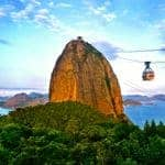 The Sugar Loaf cable car
