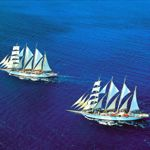 Majestic tall ships