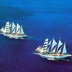 Majestic tall ships