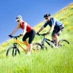 Mountain biking holiday for couples