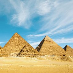 Egypt is a great holiday destination at Christmas