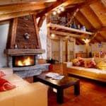 Ski Total Avoriaz chalet interior
