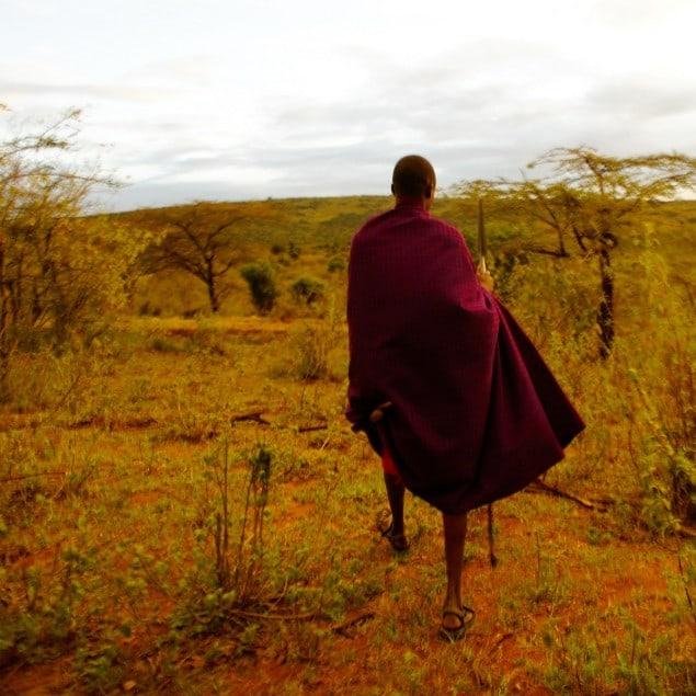 Tourdust trekking in Africa
