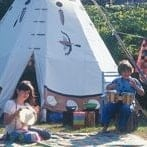 children-music-tipi-camping