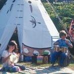 children-music-tipi-camping