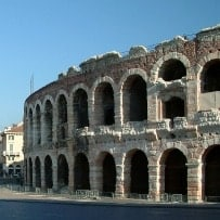 The Arena in Verona
