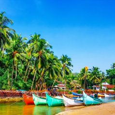 Goa is hot in March and cheap