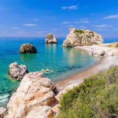 Cyprus in Europe is hot in October