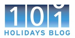 101 Holidays blog logo