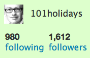 101hols twitter